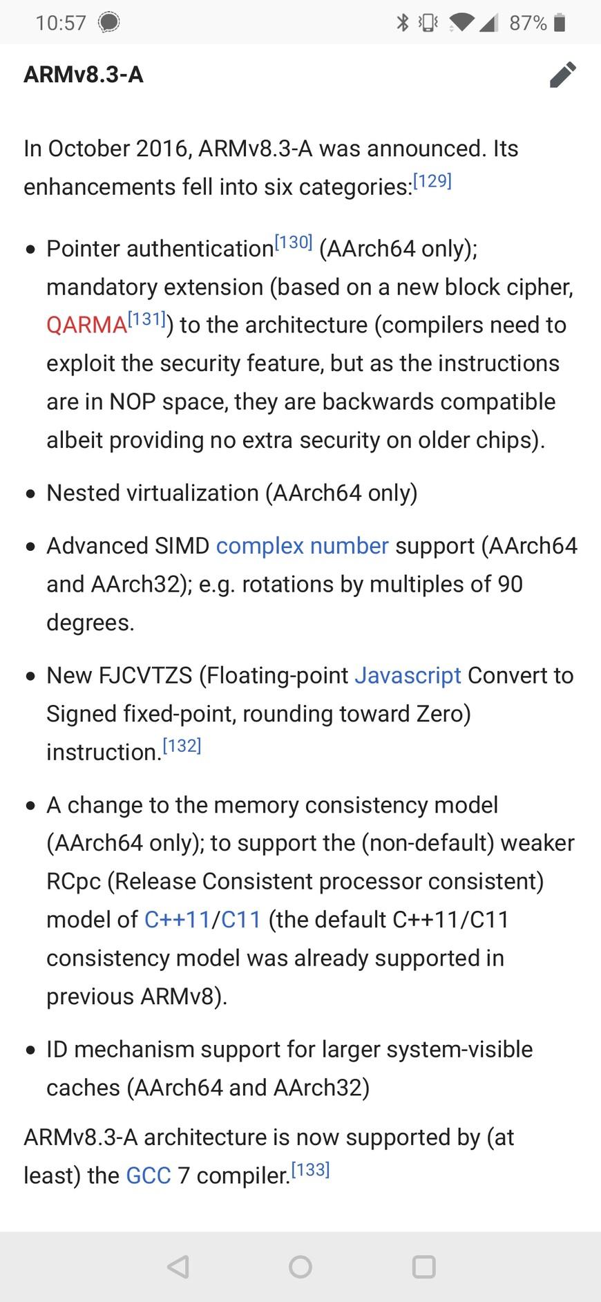 FJCVTZS (Floating-point Javascript Convert to Signed fixed-point, rounding toward Zero) instruction